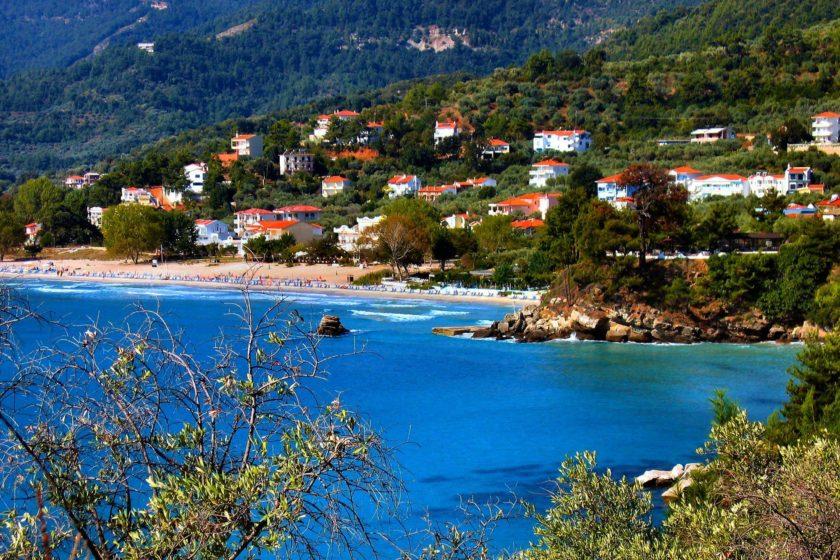 Statiunea Golden Beach - Thassos