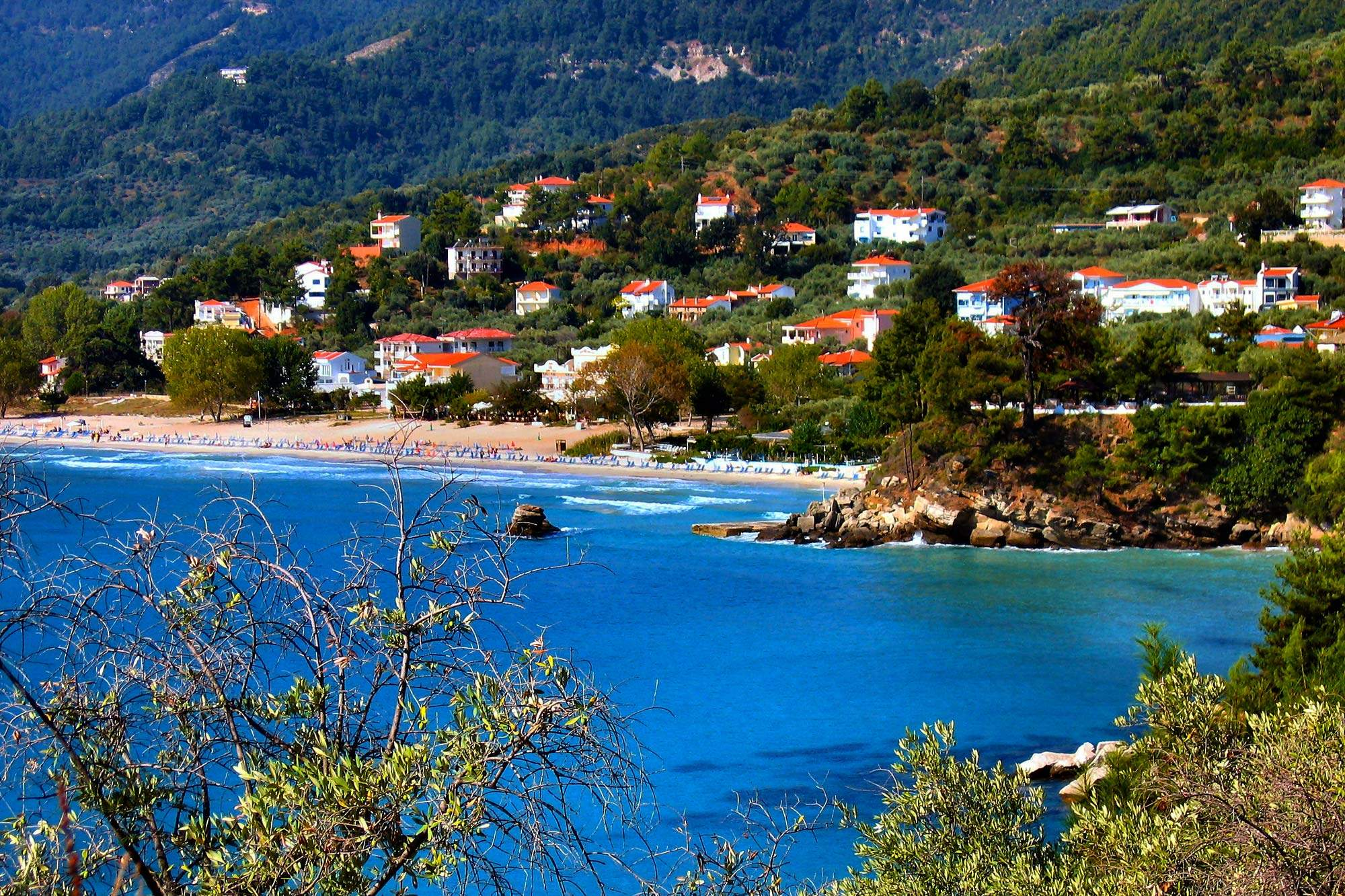 Statiunea Golden Beach - Thassos