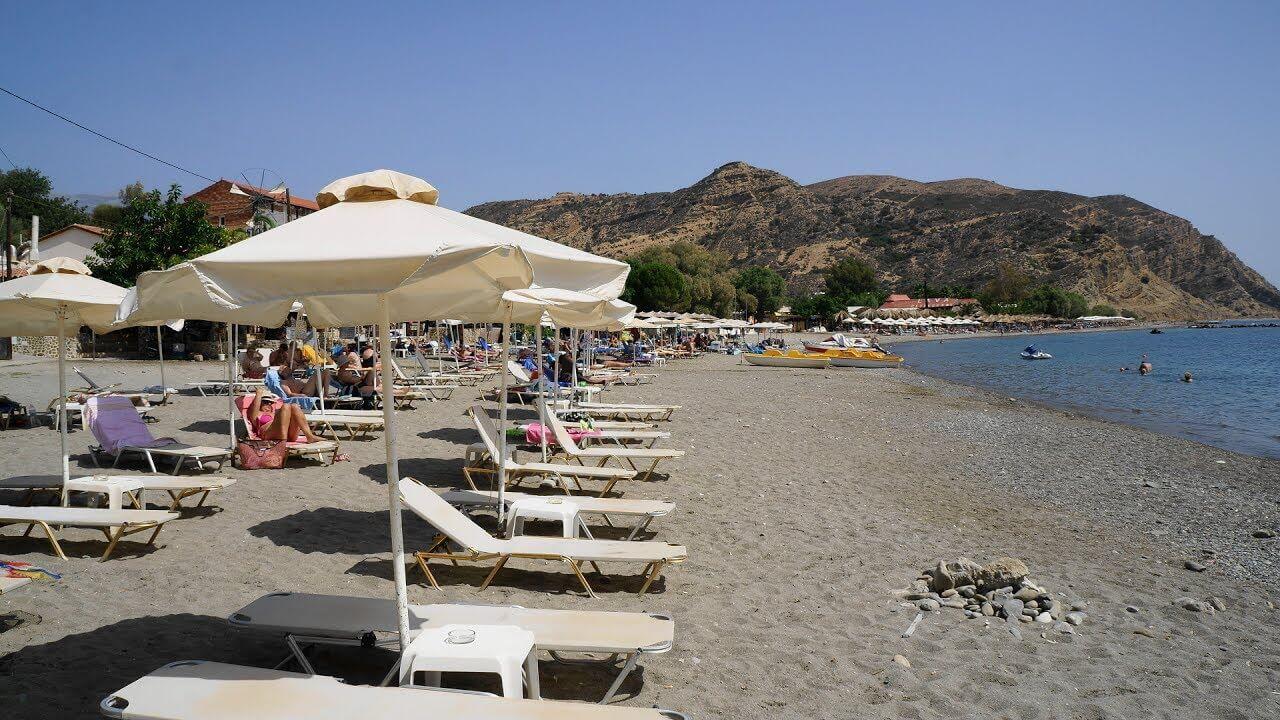Plaja Agia Galini - Creta