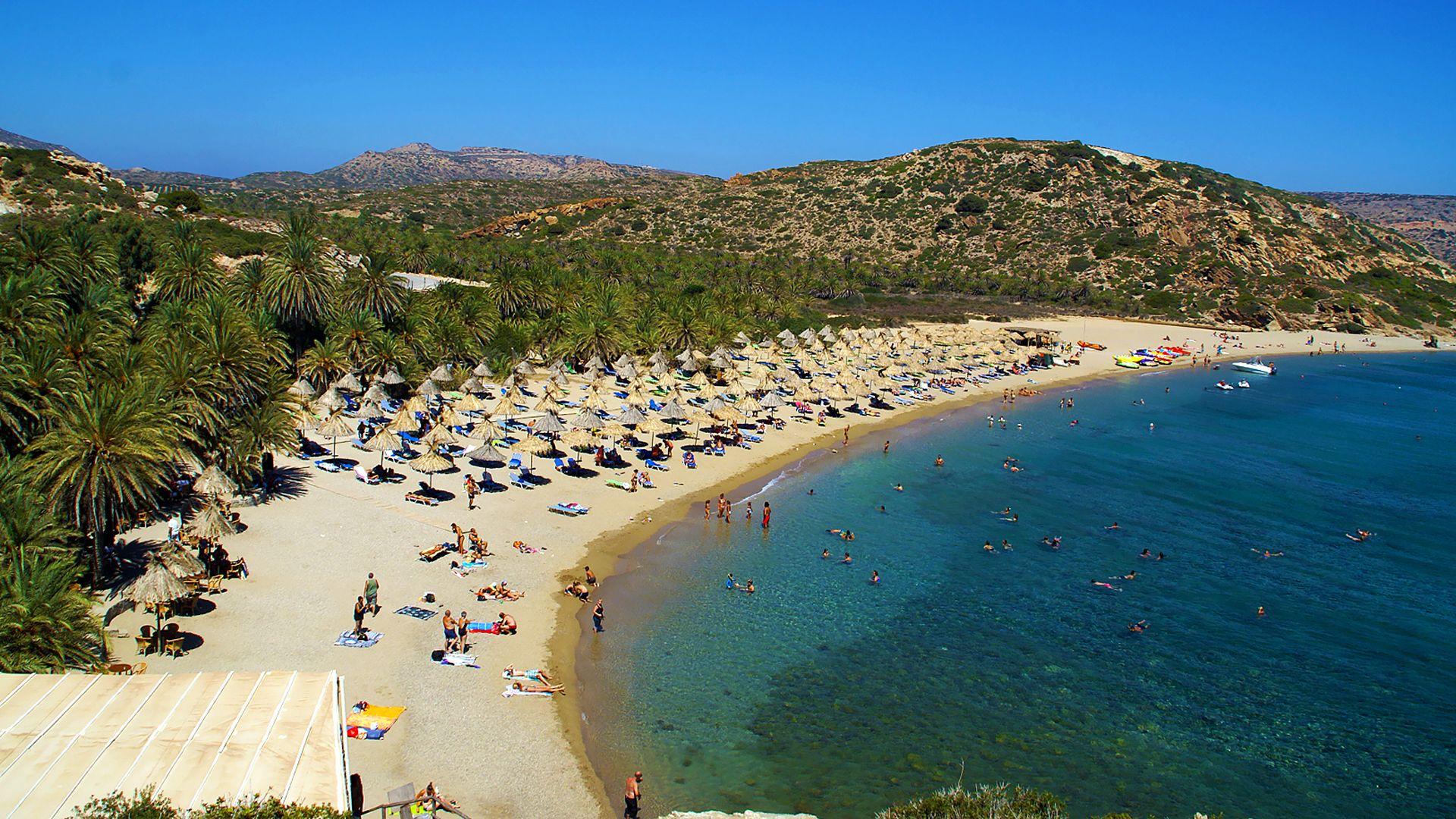 Plaja Vai (Vai Beach) - insula Creta