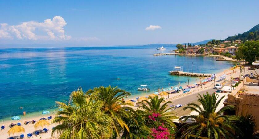 Roda - insula Corfu, Grecia