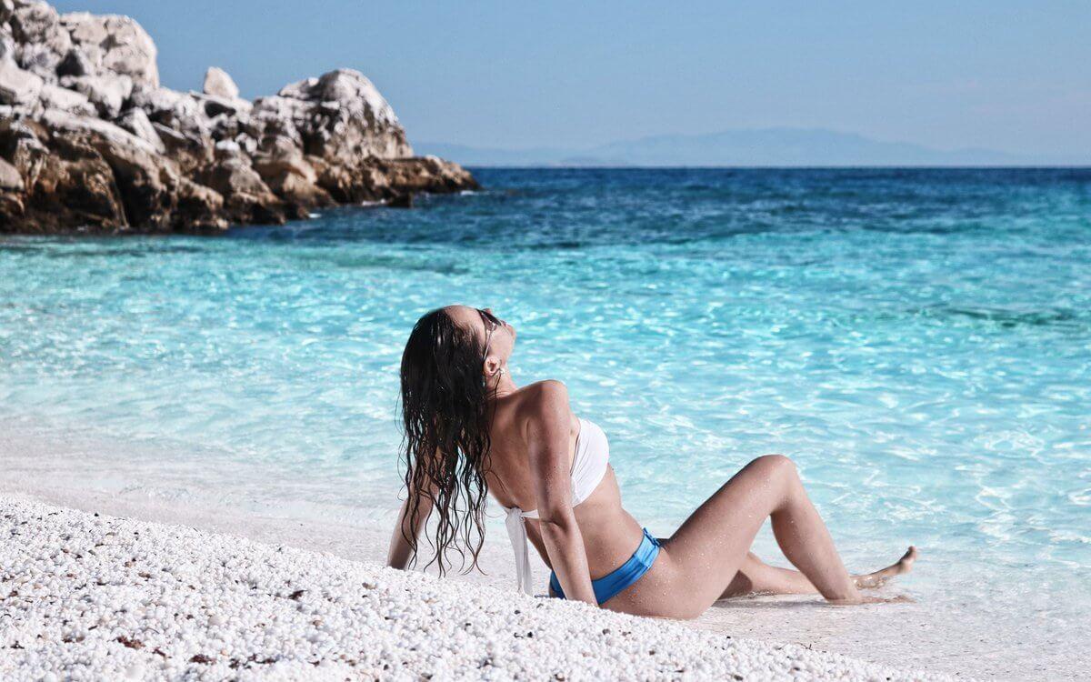 Saliara Beach - insula Thassos, Grecia