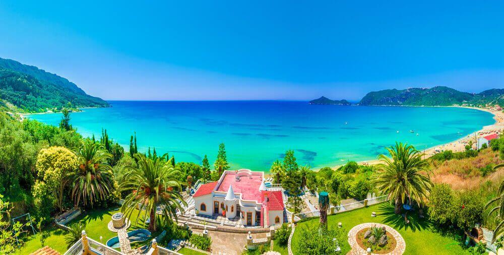 Agios Georgios Pagon - insula Corfu