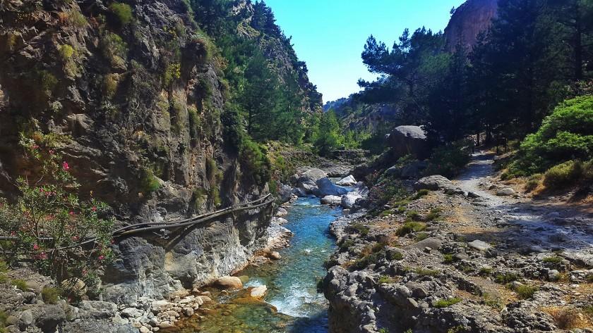 Cheile Samarei - insula Creta
