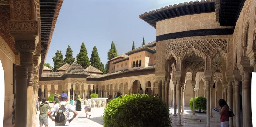 Palatul Nazrid - Alhambra, Granada