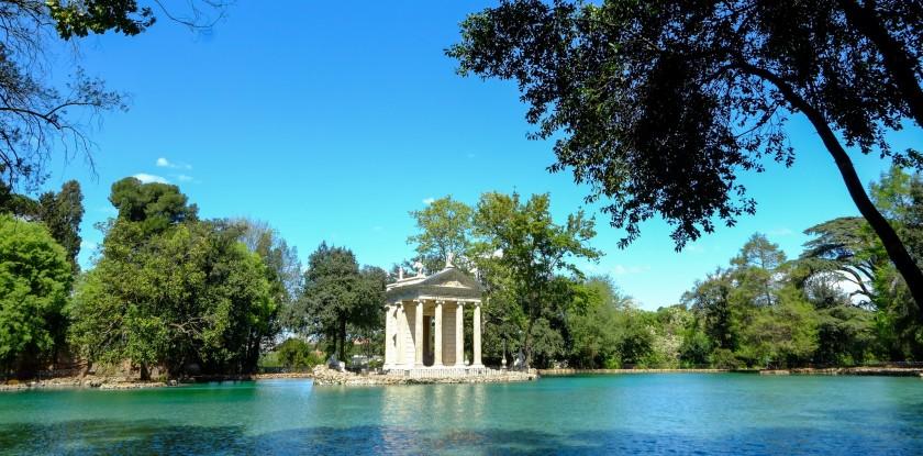 Parcul Villa Borghese - Roma