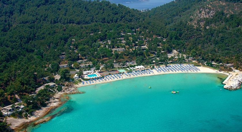 Plaja Makryammos - Thassos