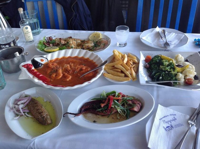 Taverna Perigiali - Olympic Beach