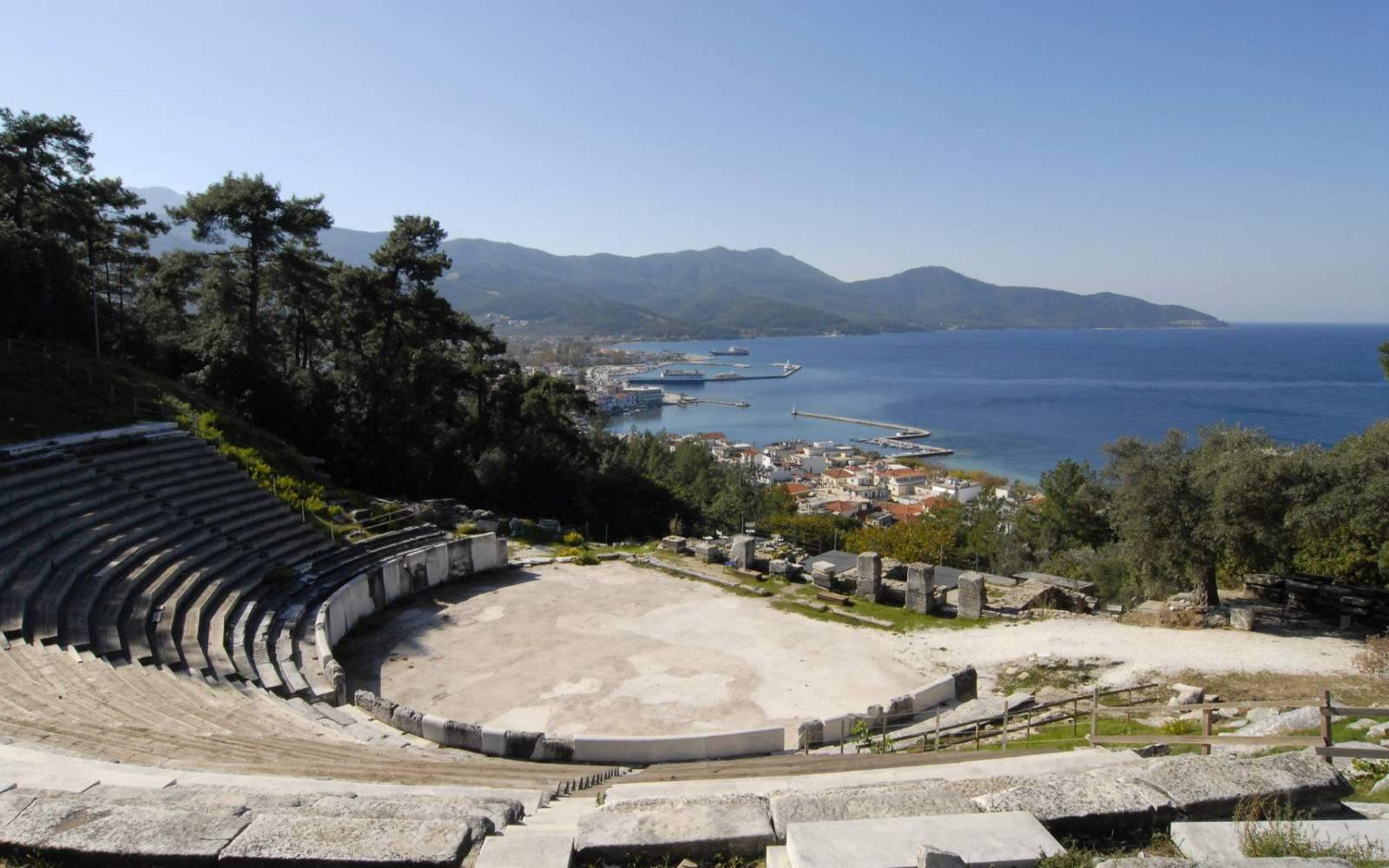 Teatrul antic - Limenas, Thassos