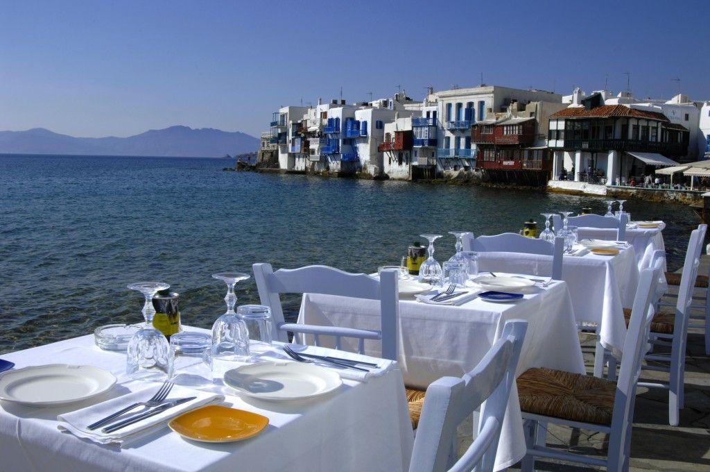 Aqua Taverna - Mykonos, Little Venice