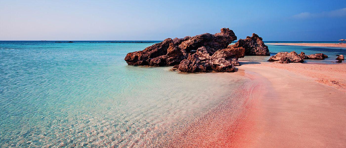 Plaja Elafonisi - insula Creta