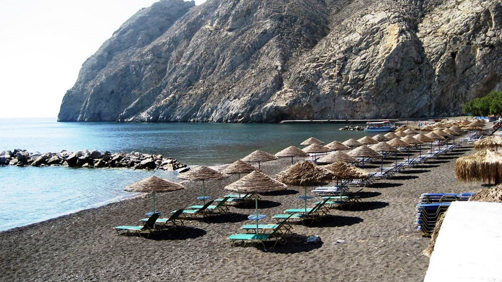 Plaja Perissa - Santorini