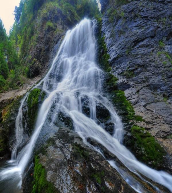 Cascada Rachitele - Valul Miresei