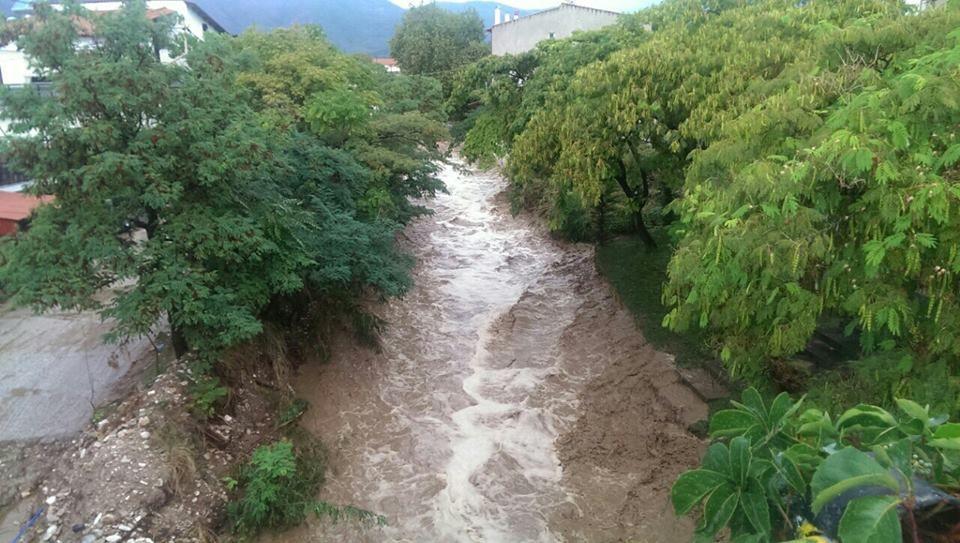 Insula Thassos - furtuna si inundatii