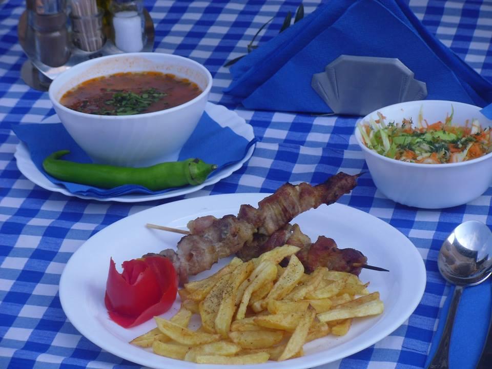 Taverna La Grecu - meniu grecesc