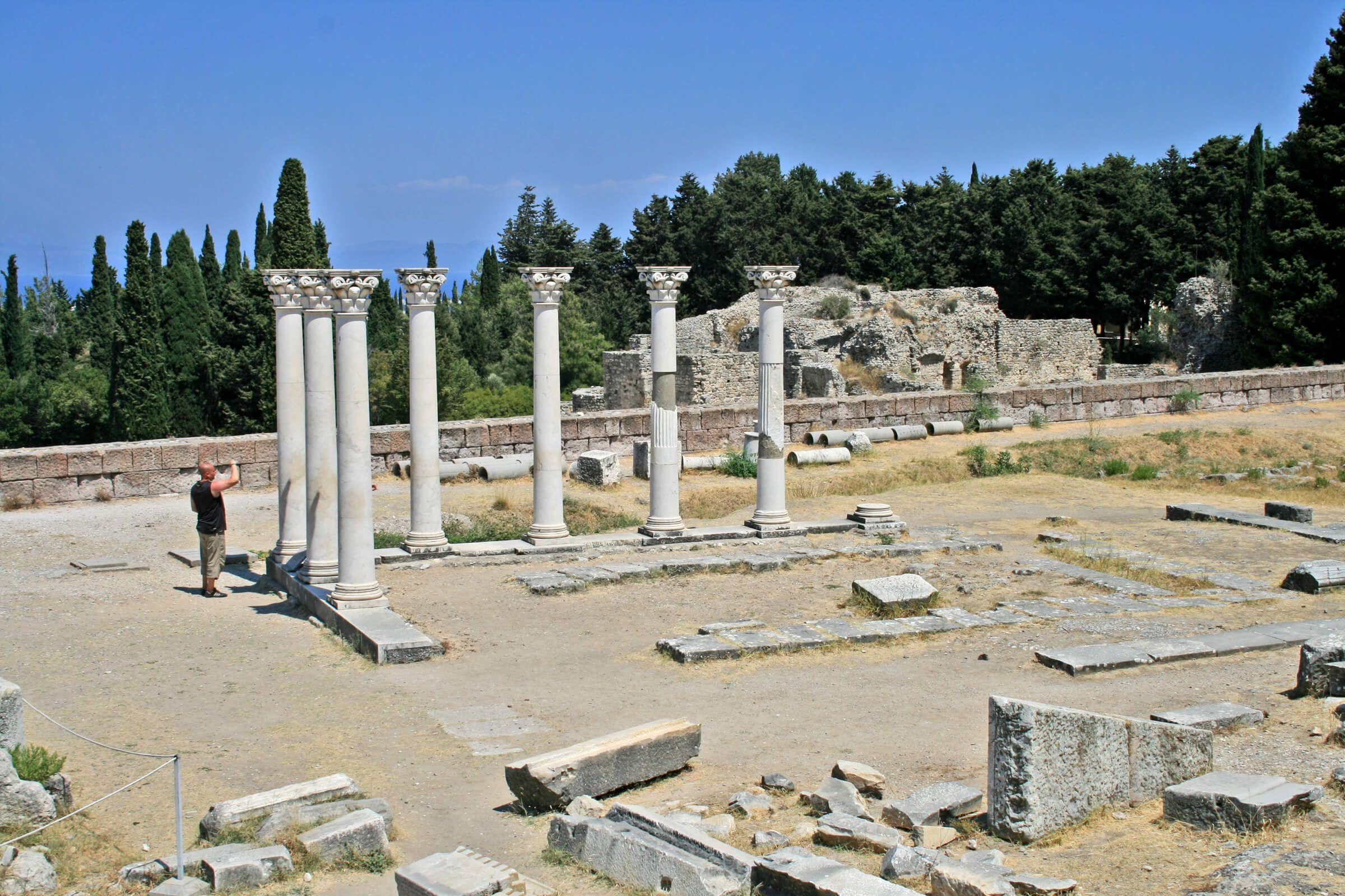 Asklepion - Kos, Grecia