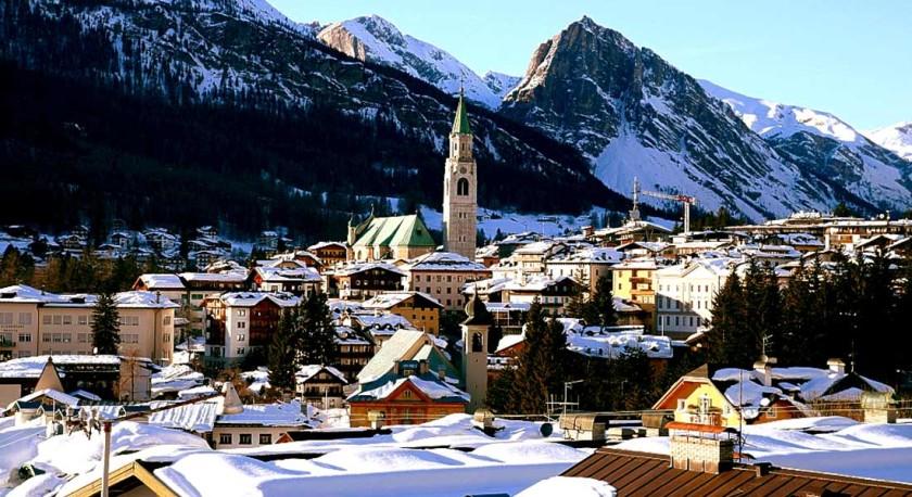 Turnul cu ceas - Cortina d'Ampezzo