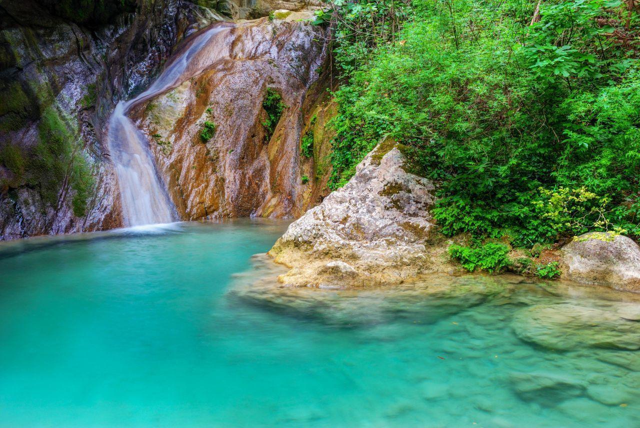 Cascada Dimosari - Lefkada