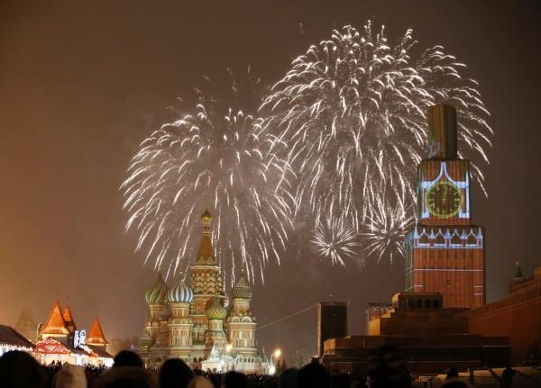 Foc de artificii 2015 Moscova