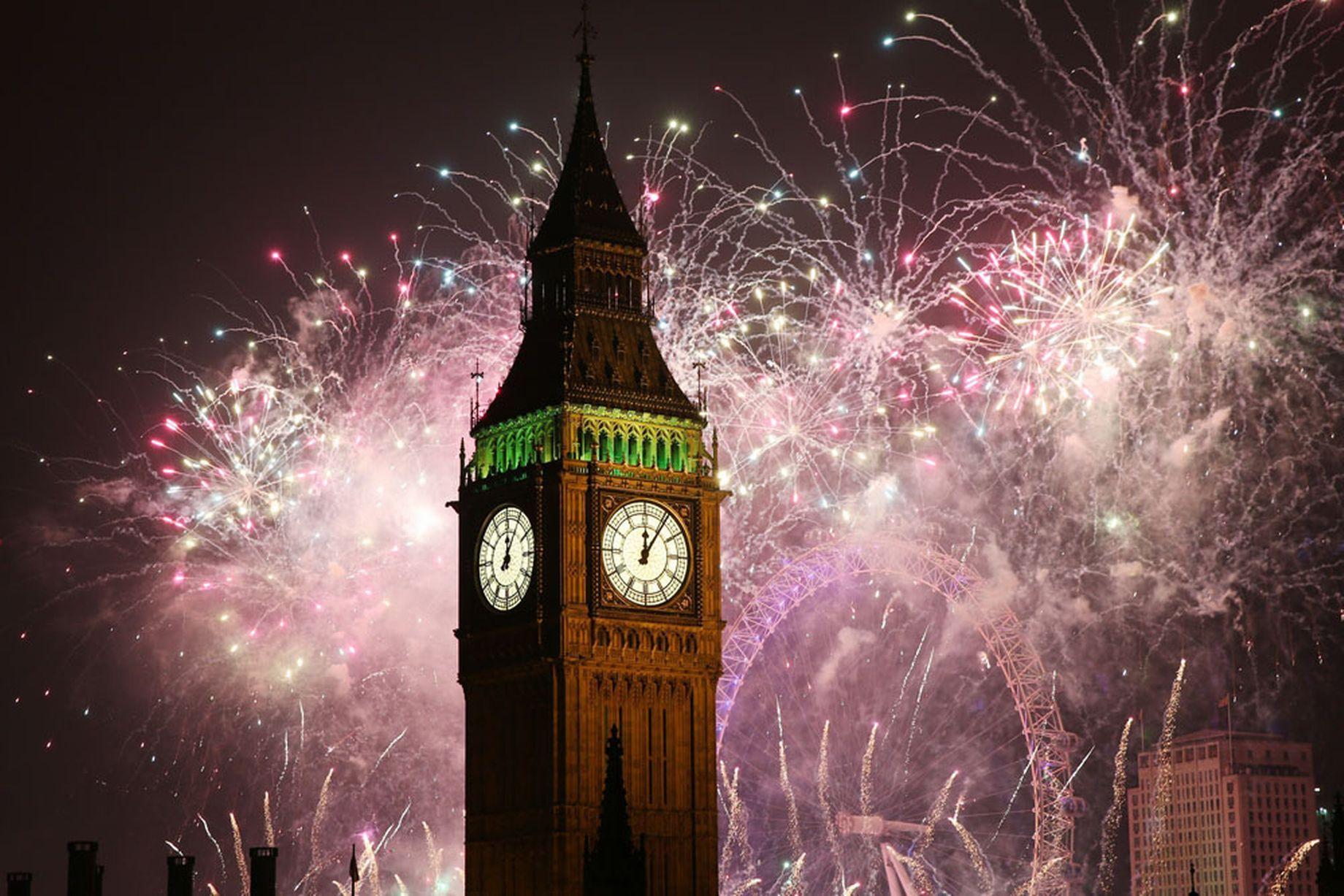 Foc de artificii 2015 Londra