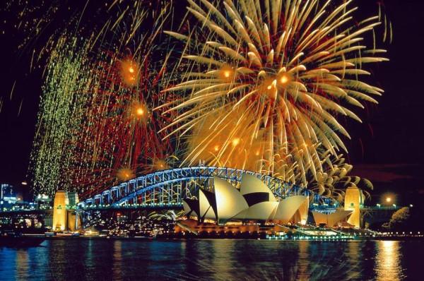 Foc de artificii Sidney - Australia