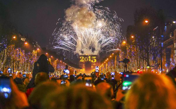 Foc de artificii Paris 2015