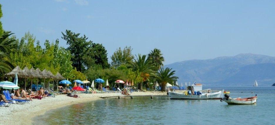 Plaja in Nidri - Lefkada