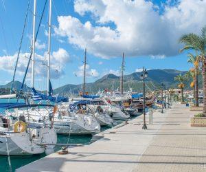 Portul din Nidri - insula Lefkada