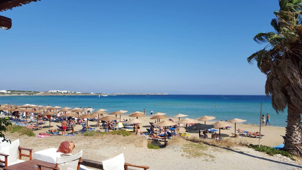 Golden Beach - insula Paros, Grecia