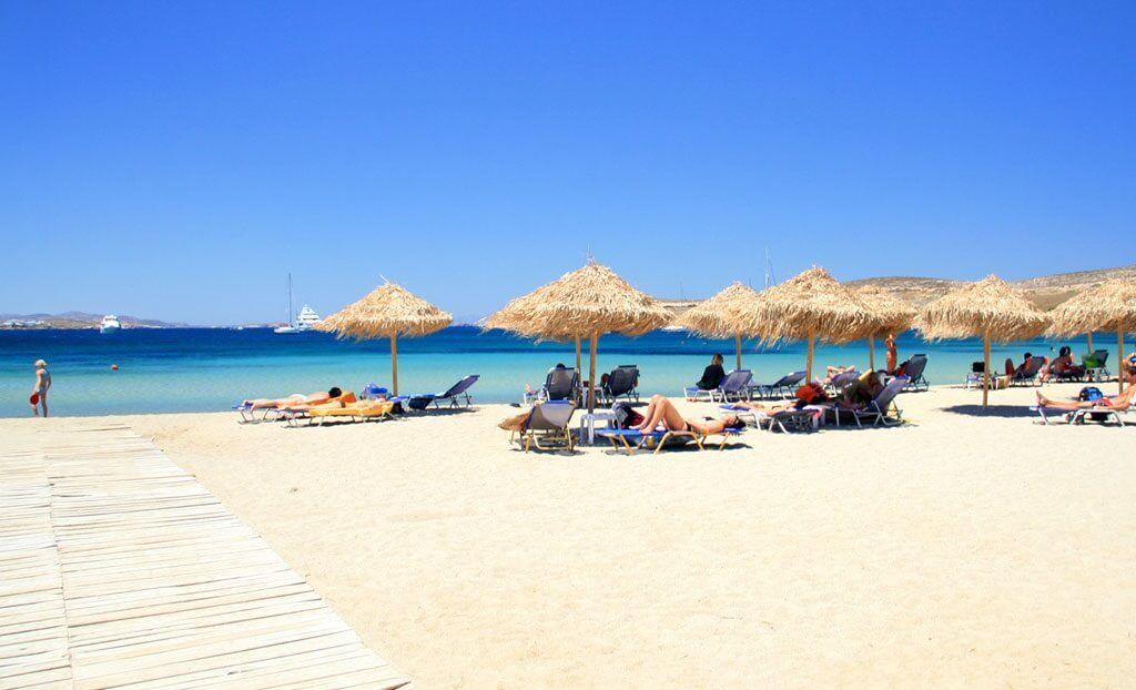 Livadia Beach - insula Paros, Grecia
