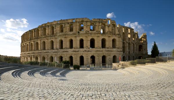 Amfiteatrul din El Djem