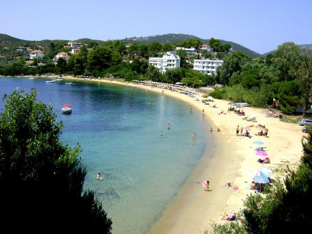 Plaja Kolios - insula Skiathos