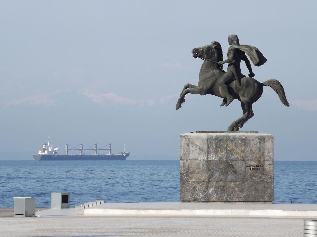 Statuia lui Alexandru cel Mare - Salonic