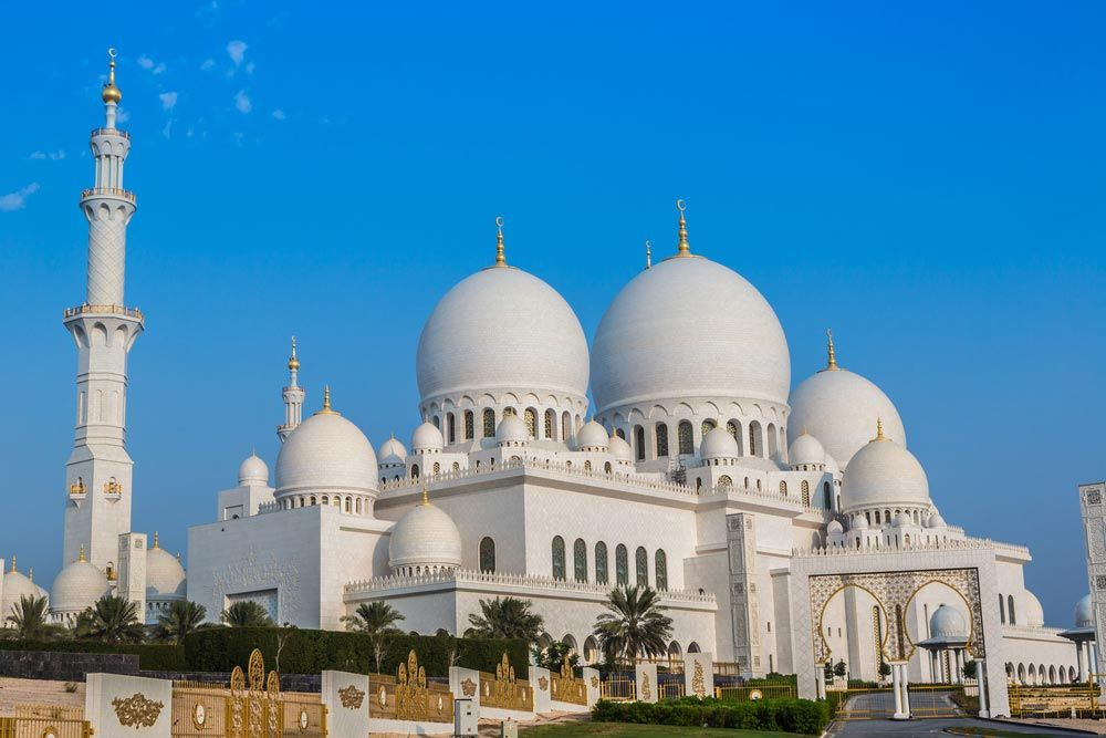Moscheea Sheikh Zayed - Abu Dhabi