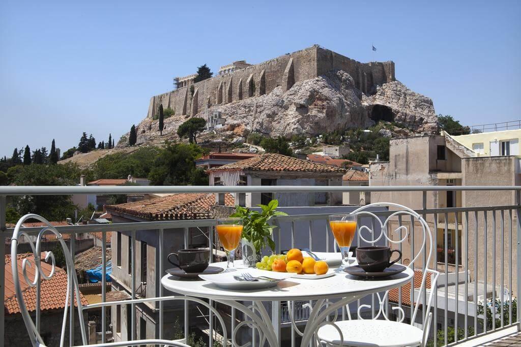 Vedere spre Acropole - Hotel Akropolis View, Atena