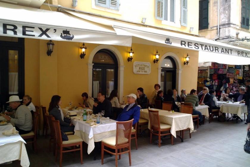 Restaurant Rex - Corfu Town