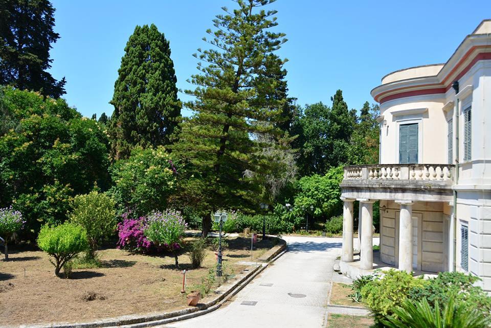 Palatul Mon Repos - Corfu