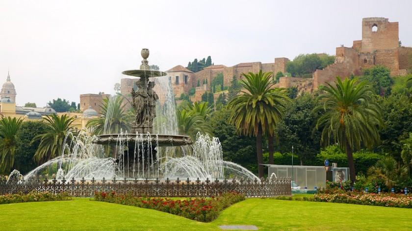 Castelul Alcazaba - Malaga, Spania