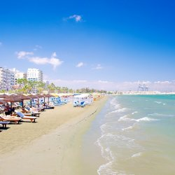 Finikoudes Beach - Larnaca