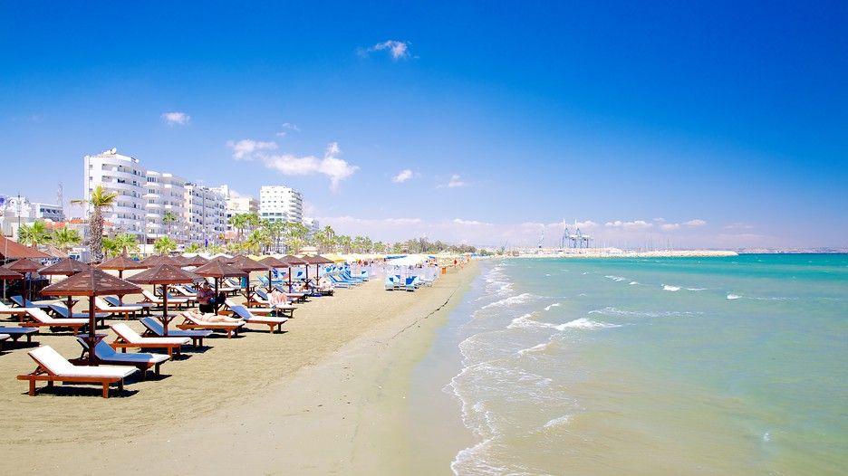Finikoudes Beach - Larnaca