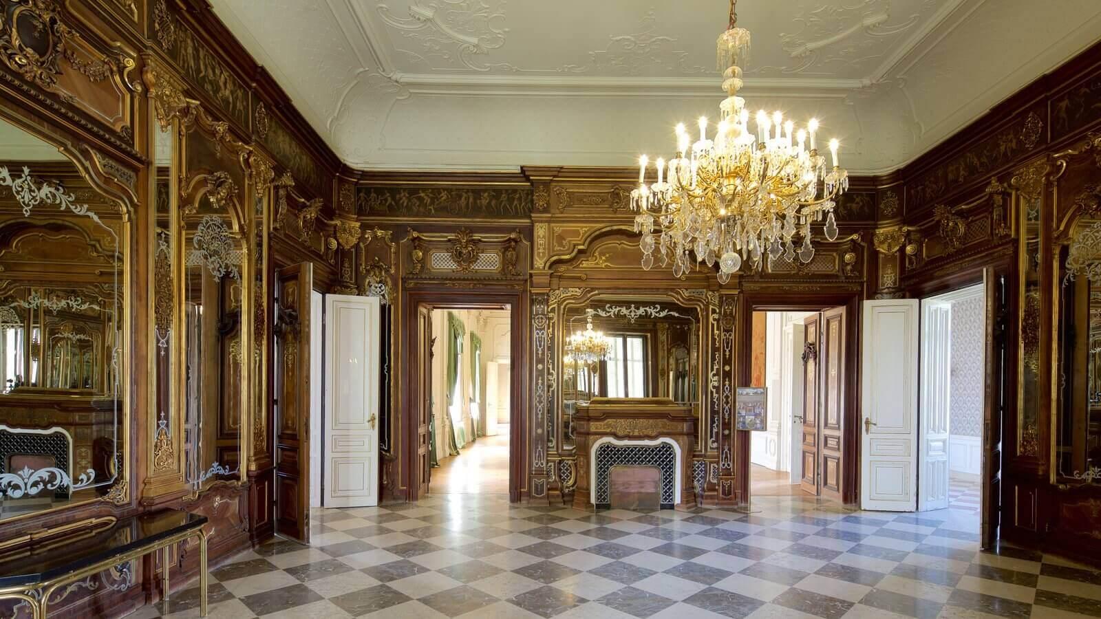 Palatul Festetics - interior