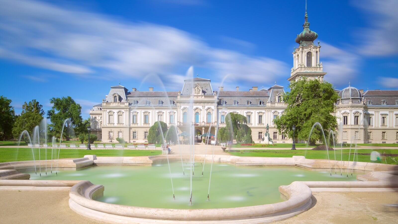 Palatul Festetics - intrare