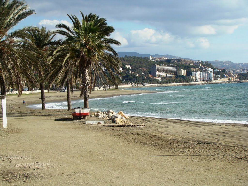 Plaja La Caleta - Malaga, Spania