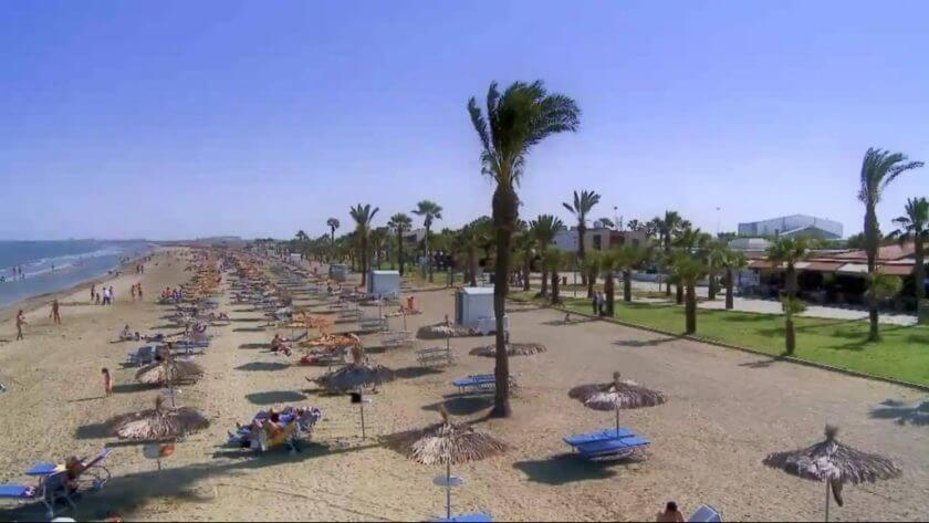 Plaja McKenzie - Larnaca, Cipru