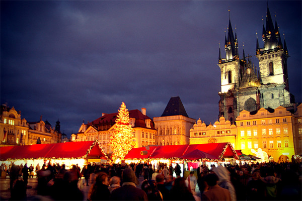 Piata de Craciun de la Praga