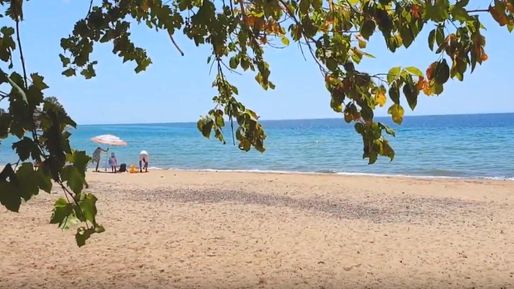 Plaja in Skala Kallirachis - Thassos