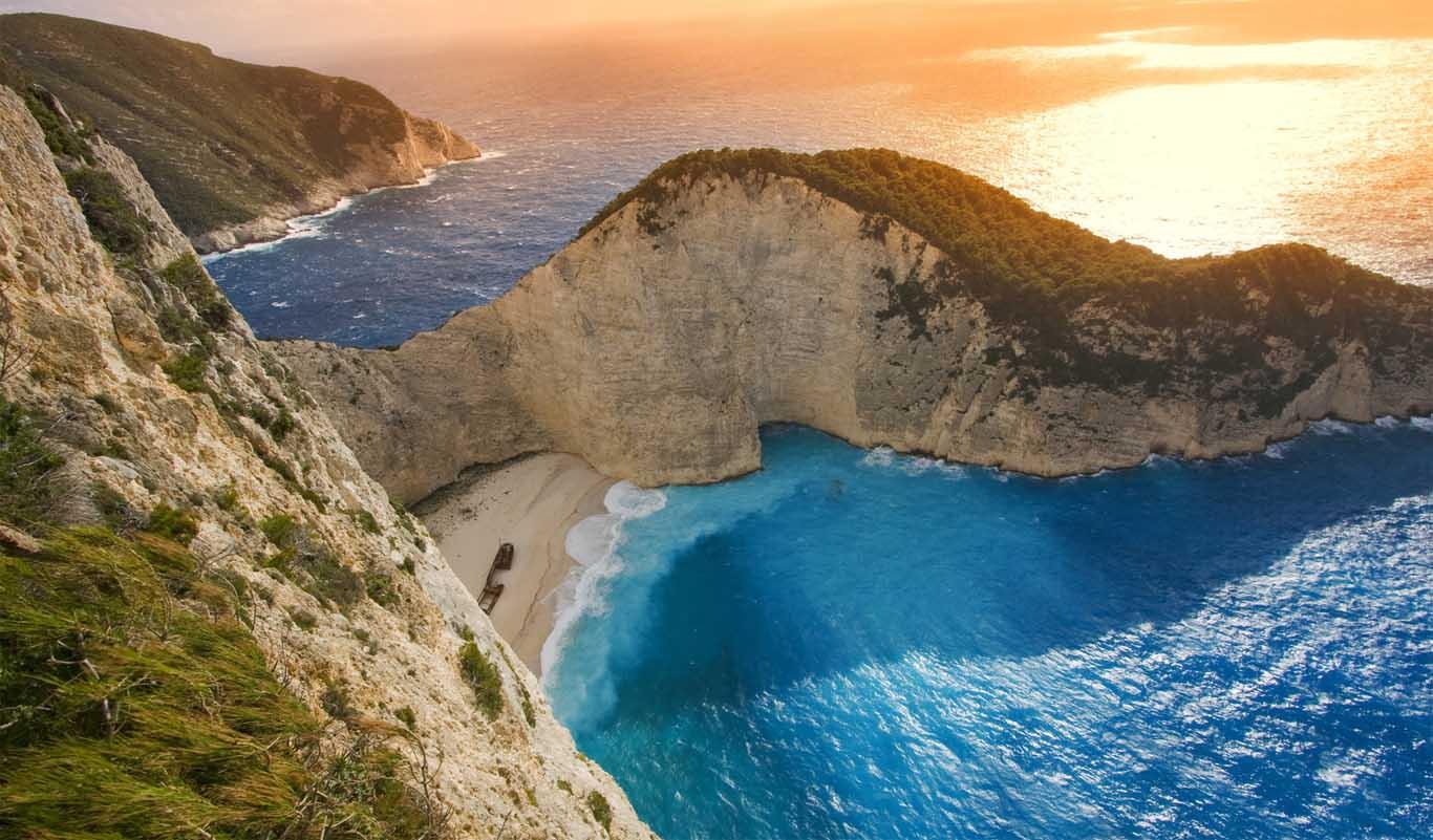 Plaja Navagio - Lekada, Grecia