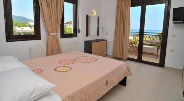 Hotel Vista Al Mar - Skala Potamia - camera