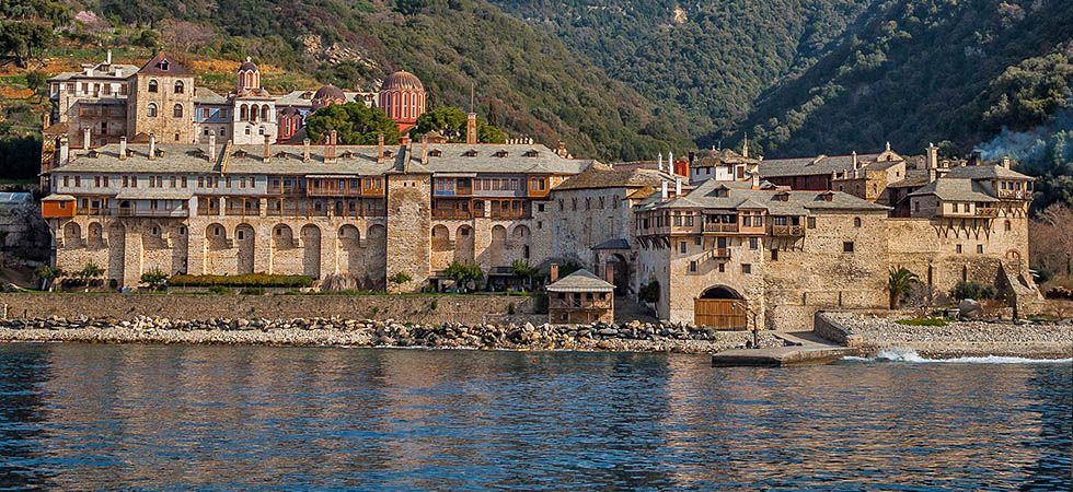 Manastirea Xenofontos - Sarti, Grecia