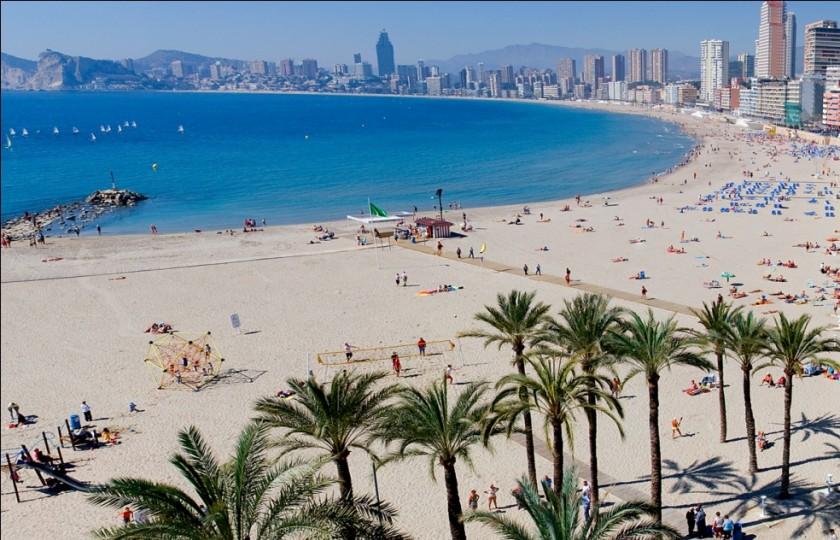 Plaja Poniente - Benidorm, Spania